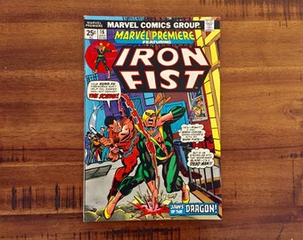 1972 Marvel Premiere #16/ VF-FN / Marvel 2nd Appearance Iron Fist!/ 1st Appearance Colleen Wing!/ J/ Hot!!! / Bagged and Boarded!