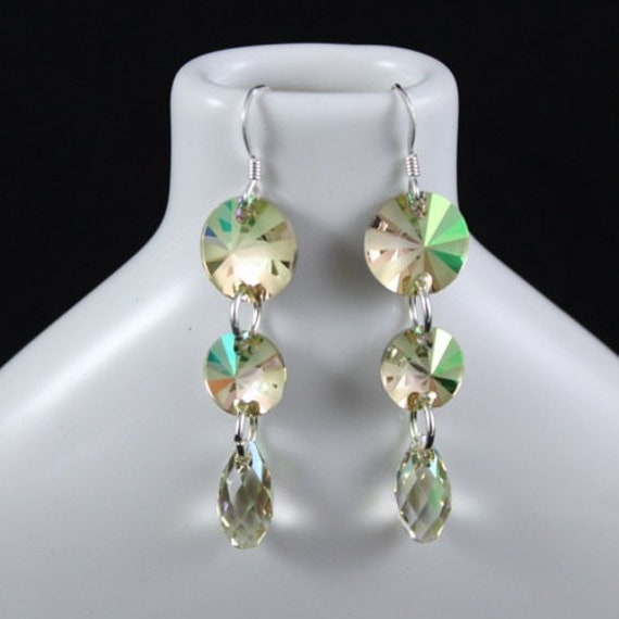 Lush Green Earrings