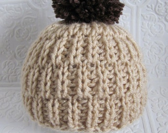 Soft and Snuggly Beanie -  Knitting Pattern - 4 sizes - Pdf - Instant Download