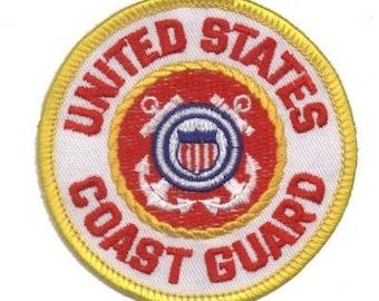 United States Coast Guard Patch (Iron on)