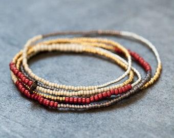 Seed bead bracelet/necklace.