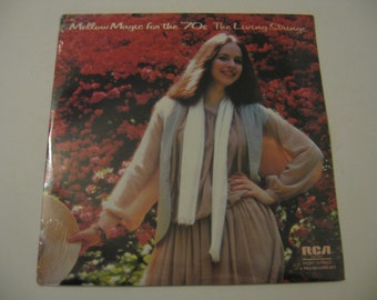 Factory Sealed! - The Living Strings - Mellow Magic For The 70's - Circa 1978