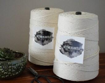 BULK 3mm macrame rope, macrame cord, cotton rope, macrame string, cotton string, cotton macrame cord, cotton cord rope, rope, string