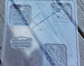 Celtic Dragons Soap Mold