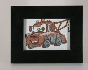 Mini Fan Art Tow Mater