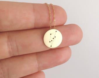 Aladdin Sane Constellation Charm Necklace