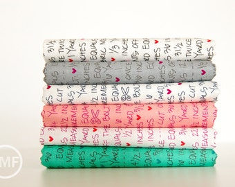 Spectrum Notes Fat Quarter Bundle, 6 Pieces, Vanessa Christenson, V and Co., 100% Cotton Fabric, Moda Fabrics, 10863