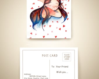 Special post card - Valentine's Day
