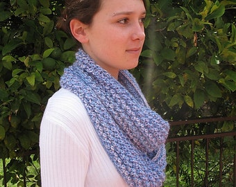 Arctic Ice Cowl Pattern, Instant Digital Download, PDF