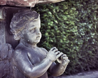 Paris Photography, Versailles Garden Statue, Versailles, Garden Art, Paris Wall Art