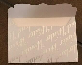 Handmade Christmas Theme Winter Theme Gift Card Holder Envelope