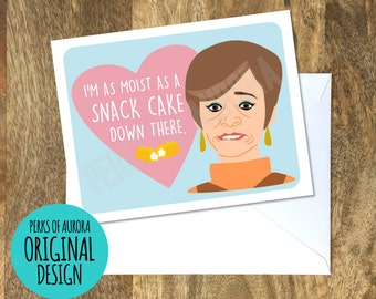 Funny Valentine's Day Card, Strangers with Candy, Jerri Blank inspired