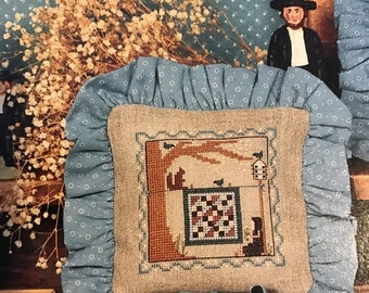 APRILSALE Homespun Elegance The Amish VIII The Quiet Life counted cross stitch leaflet No 68