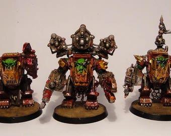 Ork Meganobz Warhammer  wargame