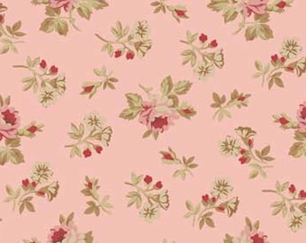 Red Rooster Bed of Roses  Fabric 4642-26257