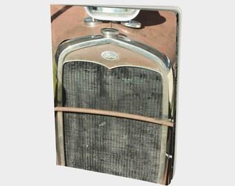Rusty car notebook