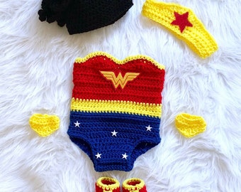 Wonder Woman Crochet