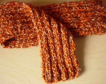 Heather scarf rust corduroy 1/1