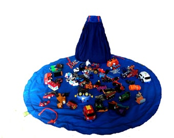 Lego Bag Mat in One, Lego storage... Ideal for blocks!!  Lego Bag and Play Mat in One, Lego • Lego Storage Bag by Toyzbag