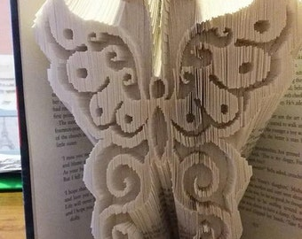 Butterfly 3 Book Folding Pattern - Combi Fold