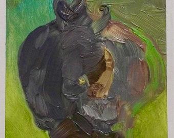Original Oil Painting, In the Brush
