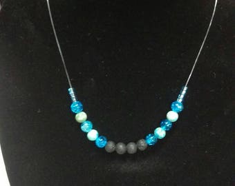 Diffuser necklace, beaded necklace,aromatherapy jewelry, special occasion necklace, essential oil jewelry