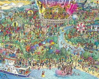 "Festival Wheres Waldo 35"" Poster"