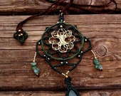 Tree of Life Macrame Neck...