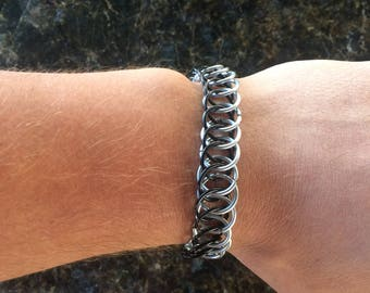 Half Persian Chainmail Bracelet Chainmail Jewelry