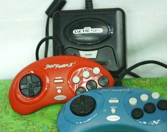 Vintage Radica Street Fighter II Sega contrôleurs - Megadrive contrôleurs - Street Fighters II - jeux vidéo Radica