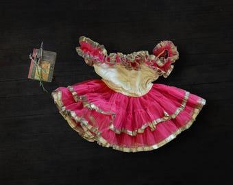 Vintage Girls Tutu Dress - Original 1940s Tutu - Collectors or Photo Prop