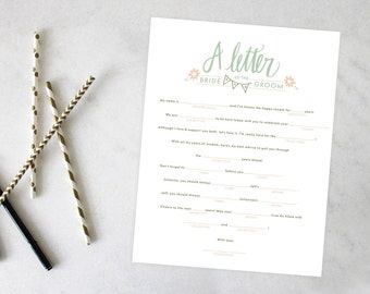 PRINTABLE Bridal Shower Games | Best Day Ever