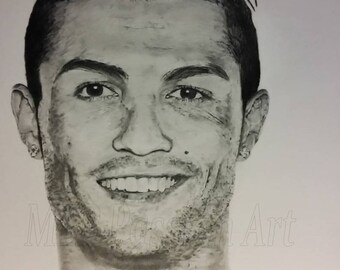 Football, Graphite drawing pencils