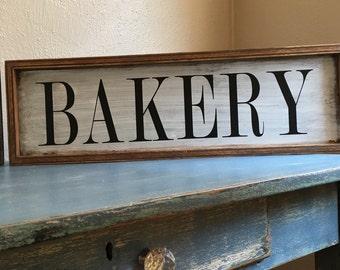 Bakery Sign,Farmhouse Kitchen Decor,Farmhouse Wall Decor,Rustic Wood Bakery Sign,Wood Bakery Sign,Signs For Kitchen,Farmhouse Wall Decor