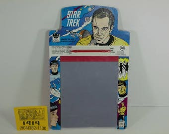 1960's StarTrek Magic Slate-Old store stock