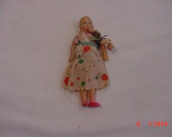 Vintage Celluloid Doll  18 - 840