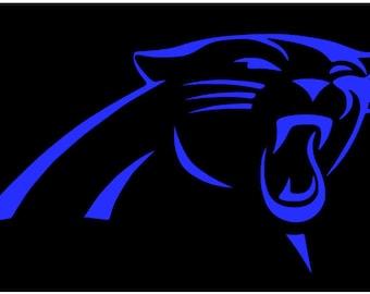 Carolina Panthers decal sticker