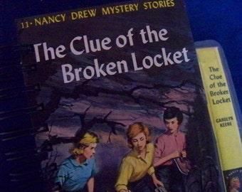 Nancy Drew book journal blank book diary Clue of the Broken Locket