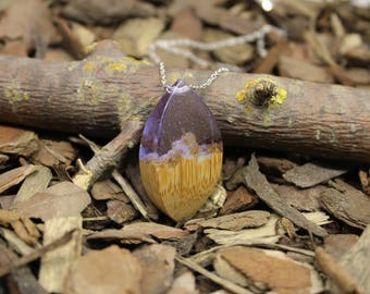 Unique resin wood art pendant, Resin wood art jewelry, Unique resin art pendant, Unique wood jewelry, Unique resin art, Unique art jewelry
