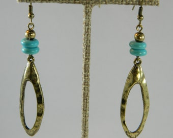 Brass and turquoise