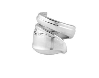Spoon Ring, Springtime,Handmade ring, Silver Spoon Jewelry, Silver ring, Spoon Jewelry, Vintage ring, Silver Spoon Ring, Wedding, Gifts