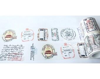 Passport Stamp Washi Tape (184279)