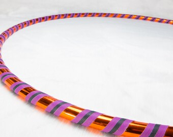 Orange Delight 3 Tone Classic Dance and Fitness Hula Hoop