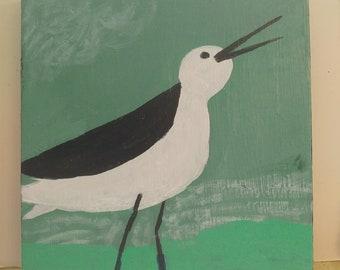 Wading Bird 1 / Painting