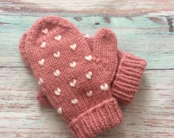 Mittens, cozy mittens, womens mittens , woman mittens, hand warmer, knit mittens, crochet mittens