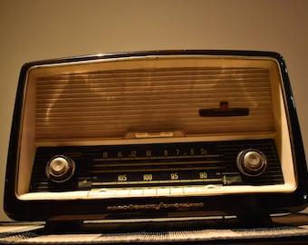 Radio vintage tube Nordmende Turandot