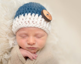 Baby Boy Hat, Baby Boy Gift, Newborn Boy Hat, Newborn Boy Hospital Hat, Newborn Boy Photo Prop Knit Baby Hat, Winter Hat Baby, Baby Wool Hat