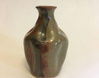 Altered Pottery Mini Vase