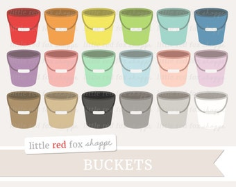 Bucket Clipart, Cleaning Clip Art Car Wash Clean Home House Household Buckets Icon Tool Cute Digital Graphic Design Small Commercial Use