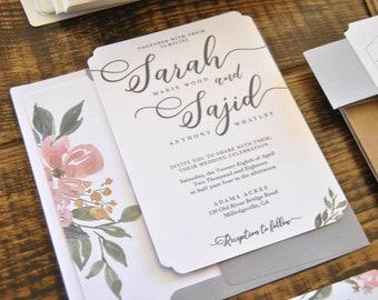 Blush Floral | Digital Invitation Suite